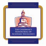 The Chairman's Honor Roll Of Academic Excellence