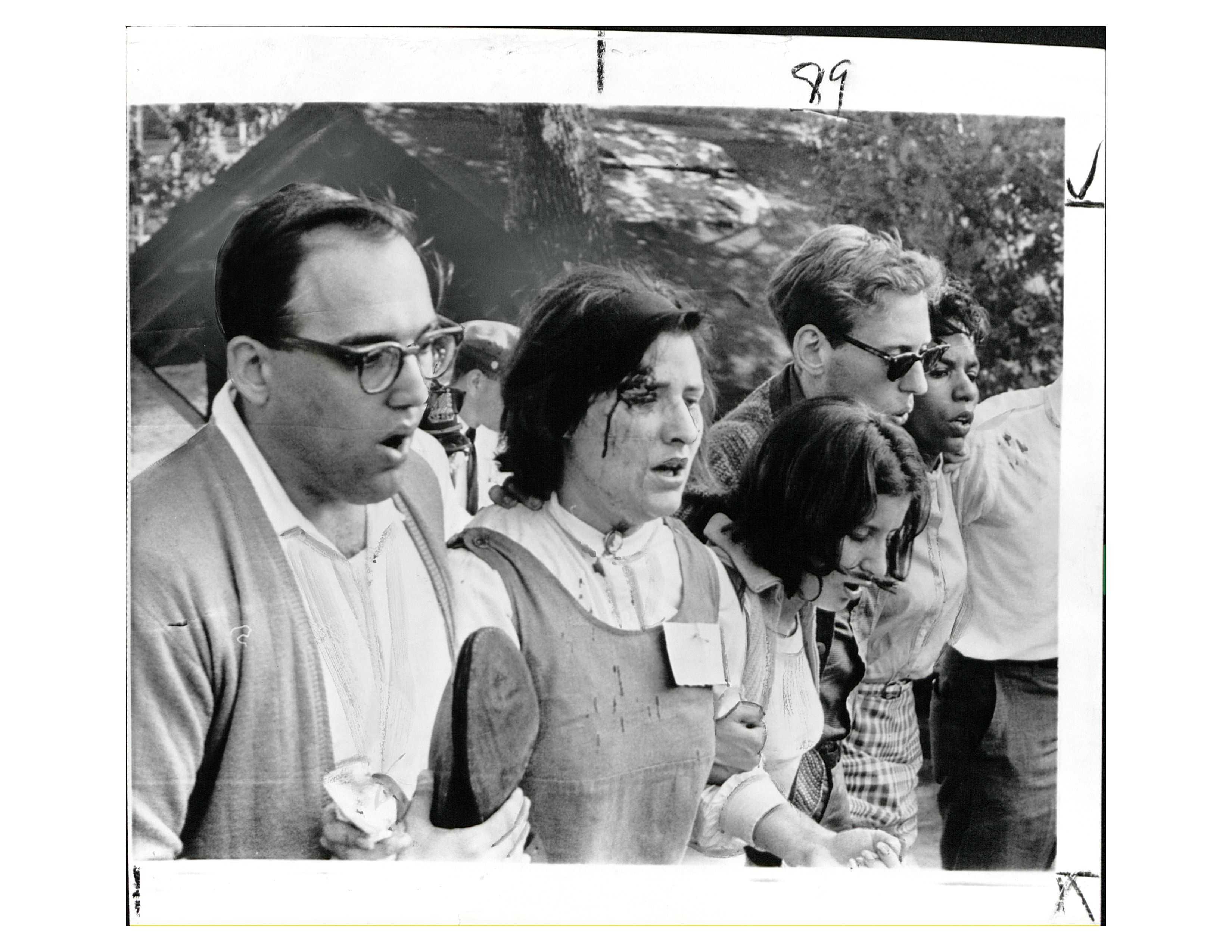 Protesters at Gwynn Oak Amusement Park in July 1963