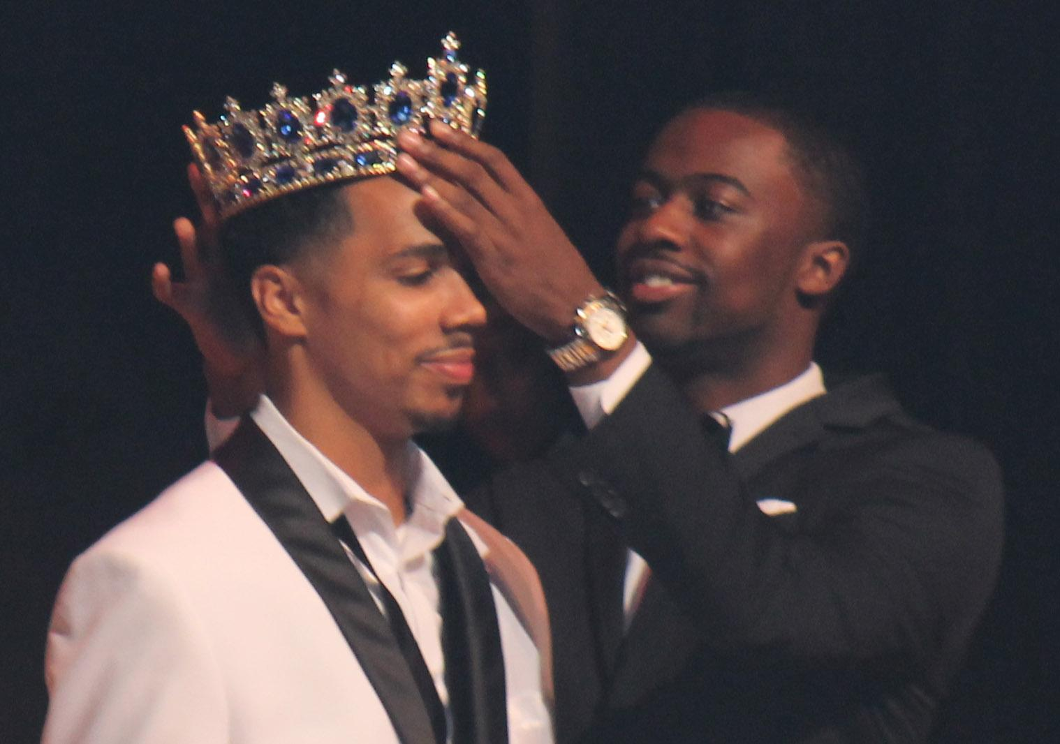 Monzona Whaley is crowned Mr. Morgan