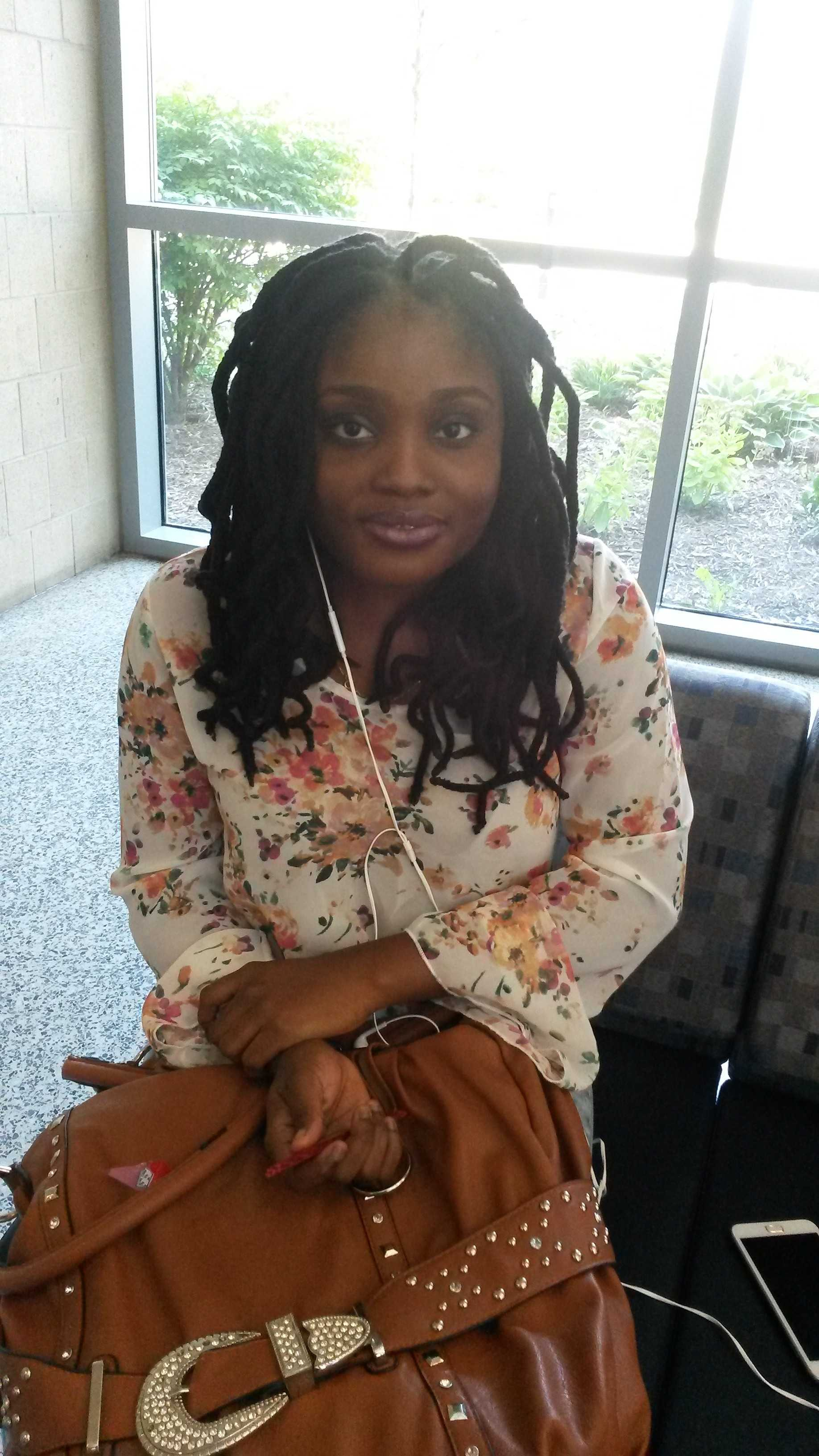 Abimbola Akindileni is a sophomore Accounting major. She says the best thing this summer was being able to travel out of state to spend time with family and taking a few summer classes.