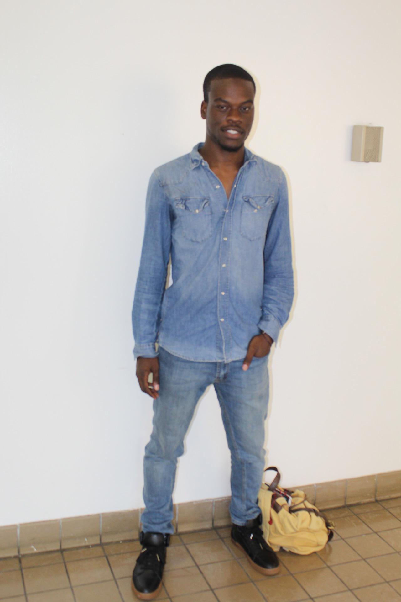 Alloysius Ndiyo, junior, Civil Engineering major
