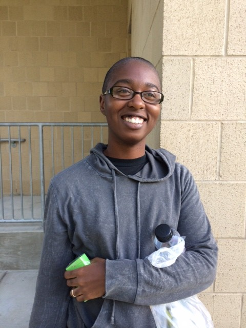 Chelsey Pennyamon, sophomore at Morgan State University