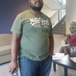Deverick Murray, graduate student at Morgan State University
