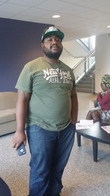 Deverick Murray, graduate student at Morgan State University