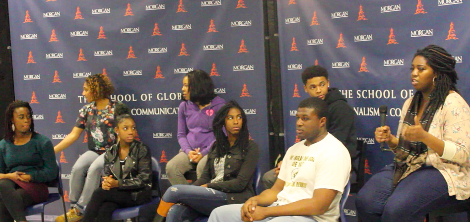 Morgan students talk about rape on campus.