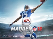 Madden 16 video game cover