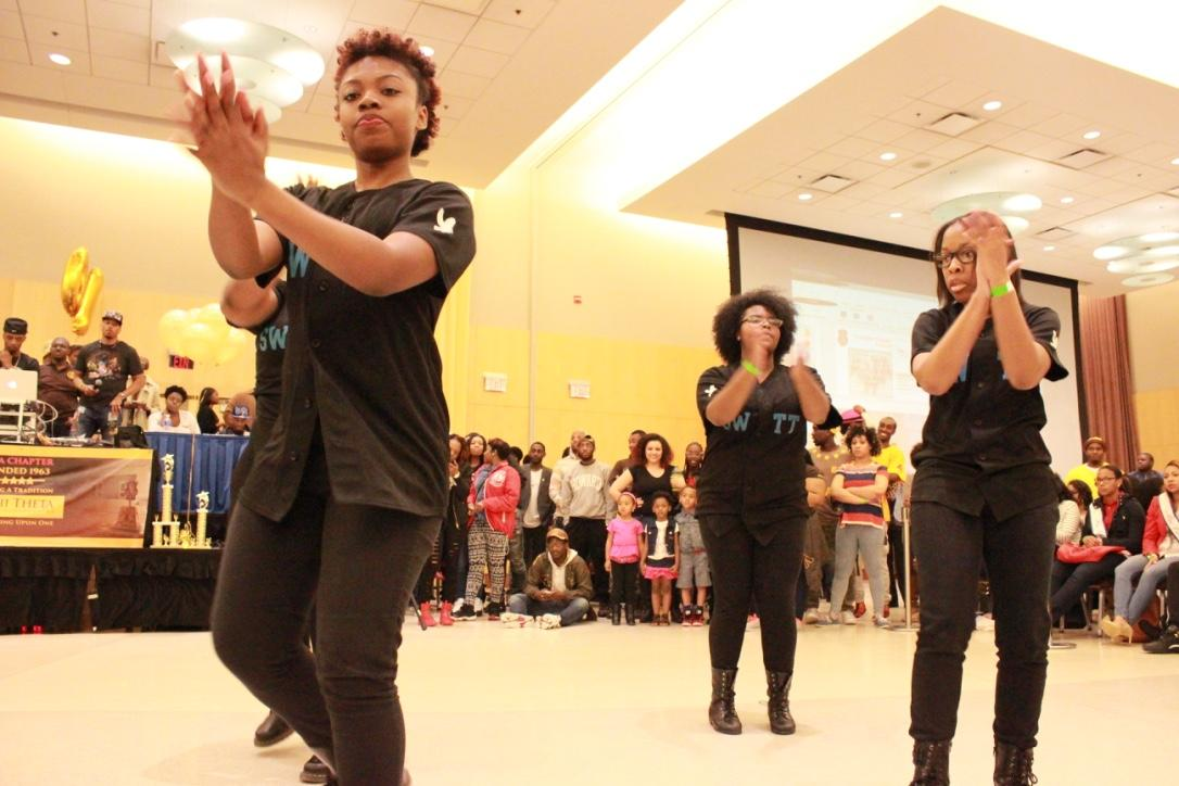 Guest performers at the Project X Stroll Competition.  Photo by Terry Wright.