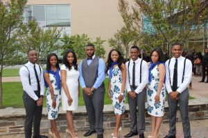 Morgan State University Royal Court 2016-2017.