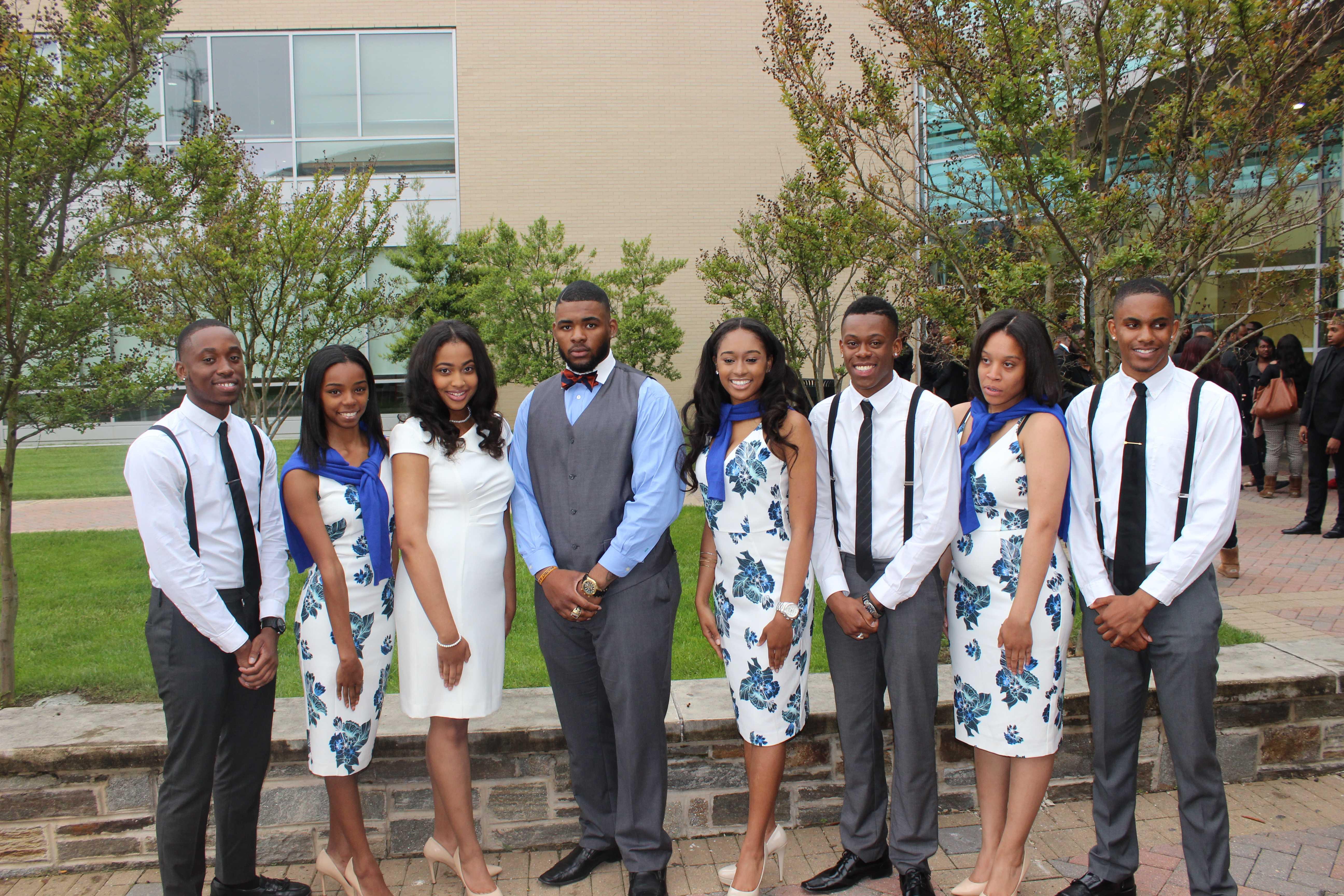Morgan State University Royal Court 2016-2017.
