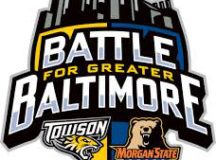 The official logo for the renewed rivalry between Morgan State University and Towson University.