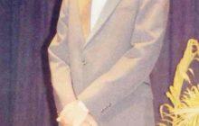 Edwin T. Johnson, serving as Mister Morgan 1991-1992. Courtesy of Edwin T. Johnson.